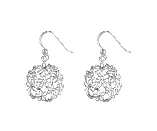 sterling silver drop earrings at Sophie Oliver Jewellery