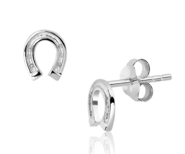 ladies sterling silver stud earrings at Sophie Oliver Jewellery